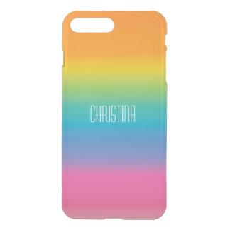Capa iPhone 8 Plus/7 Plus Inclinação da máscara do arco-íris