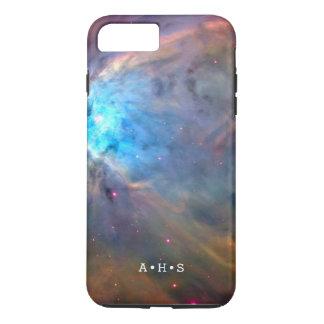 Capa iPhone 8 Plus/7 Plus Iniciais personalizadas respingo do Supernova