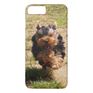 Capa iPhone 8 Plus/7 Plus iPhone 7 do yorkshire terrier positivo, mal lá