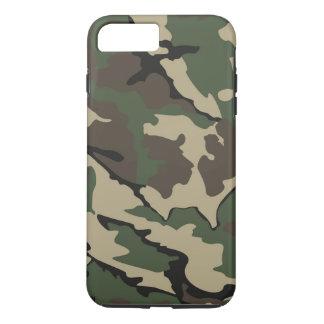 Capa iPhone 8 Plus/7 Plus iPhone 7 positivo, caso resistente de Camo