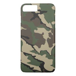 Capa iPhone 8 Plus/7 Plus iPhone 7 positivo, mal lá caso de Camo
