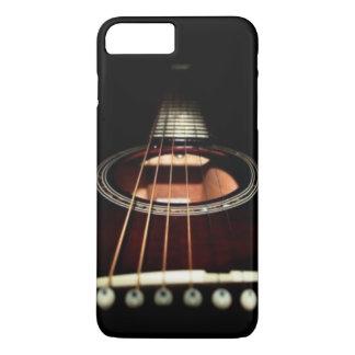 Capa iPhone 8 Plus/7 Plus (iphone da guitarra preta) 7/8 de caso
