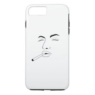 Capa iPhone 8 Plus/7 Plus iPhone de Apple da menina do cigarro 8 Plus/7 mais