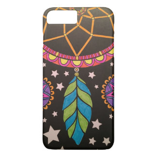 Capa iPhone 8 Plus/7 Plus iPhone de Dreamcatcher 7/8 de caso magro positivo