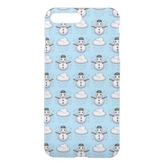 Capa iPhone 8 Plus/7 Plus iPhone de Emoji do boneco de neve 8/7 de caso
