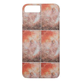 Capa iPhone 8 Plus/7 Plus iPhone de mármore 7 de Brown Apple positivo, mal