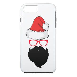 Capa iPhone 8 Plus/7 Plus iPhone de Papai Noel 7/8 de caso positivo