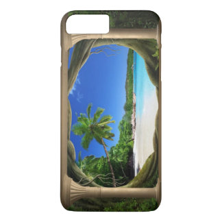 Capa iPhone 8 Plus/7 Plus (iphone do paraíso da praia) 7/8 de caso