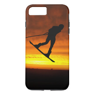Capa iPhone 8 Plus/7 Plus iPhone do por do sol de Wakeboard 8 Plus/7 mais o