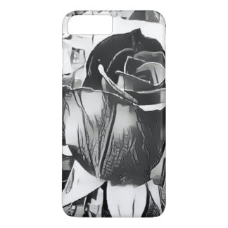 Capa iPhone 8 Plus/7 Plus iPhone do rosa preto & branco 8/7 de caso positivo