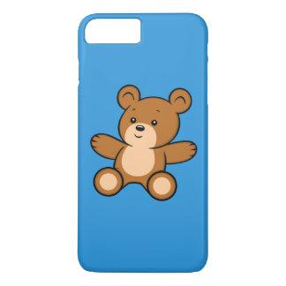Capa iPhone 8 Plus/7 Plus iPhone do urso de ursinho dos desenhos animados 8