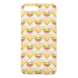 Capa iPhone 8 Plus/7 Plus iPhone pateta de Emoji 8 Plus/7 mais o caso de