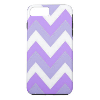 Capa iPhone 8 Plus/7 Plus iPhone roxo de Chevron 8 Plus/7 mais o caso
