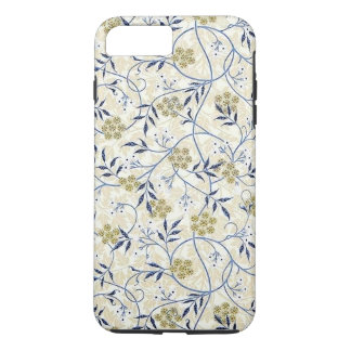 Capa iPhone 8 Plus/7 Plus iPhone X/8/7 do jasmim azul mais o caso resistente