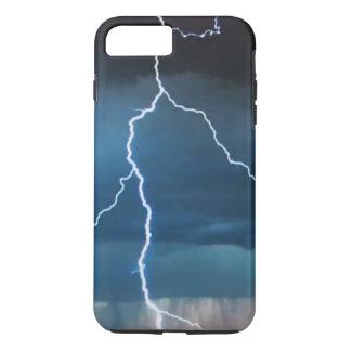 Capa iPhone 8 Plus/7 Plus iPhone X/8/7 do relâmpago mais o caso resistente