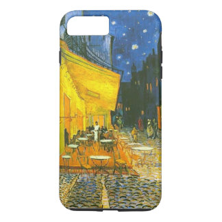 Capa iPhone 8 Plus/7 Plus iPhone X/8/7 do terraço do café mais o caso