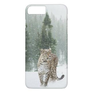 Capa iPhone 8 Plus/7 Plus Jaguar na neve