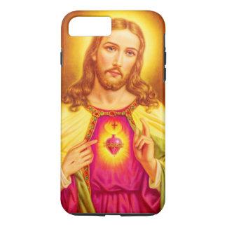 Capa iPhone 8 Plus/7 Plus Jesus Cristo nosso salvador