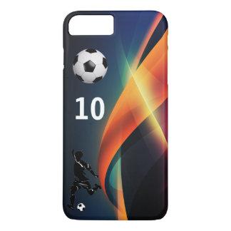 Capa iPhone 8 Plus/7 Plus Jogador de futebol 10