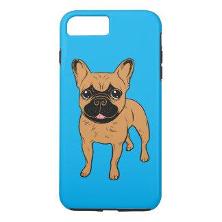 Capa iPhone 8 Plus/7 Plus Jovem corça dourada Frenchie