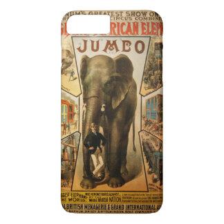 Capa iPhone 8 Plus/7 Plus Jumbo, o elefante africano gigante