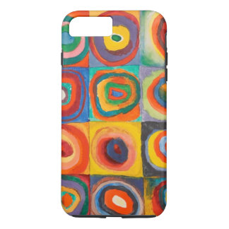 Capa iPhone 8 Plus/7 Plus Kandinsky esquadra o caso positivo do iPhone 6 dos