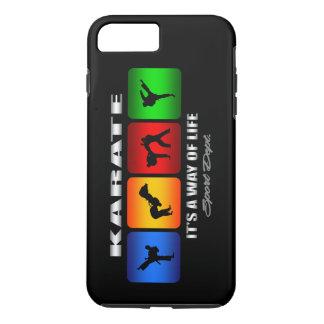 Capa iPhone 8 Plus/7 Plus Karaté legal é um modo de vida
