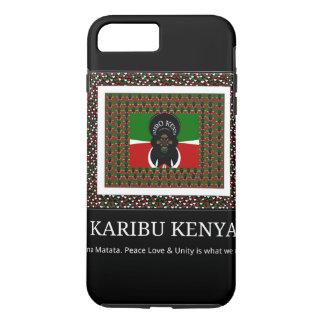 Capa iPhone 8 Plus/7 Plus Karibu Kenya Hakuna Matata