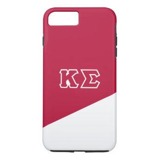 Capa iPhone 8 Plus/7 Plus Letras do grego do Sigma | do Kappa