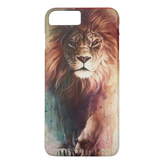 Capa iPhone 8 Plus/7 Plus Lion , Leão