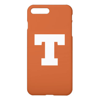 Capa iPhone 8 Plus/7 Plus Logotipo da Universidade do Texas   Texas