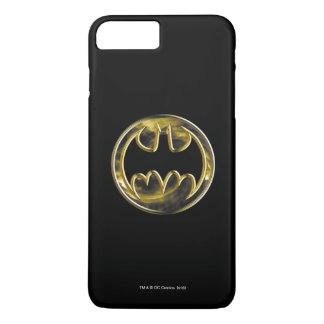 Capa iPhone 8 Plus/7 Plus Logotipo do ouro do símbolo   de Batman