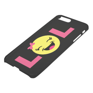 Capa iPhone 8 Plus/7 Plus LOL feminino Emoji