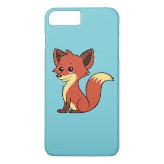 Capa iPhone 8 Plus/7 Plus Luz bonito do Fox dos desenhos animados - caso