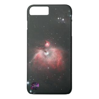 Capa iPhone 8 Plus/7 Plus M42 originais - Imagem da nebulosa de Orion - cor