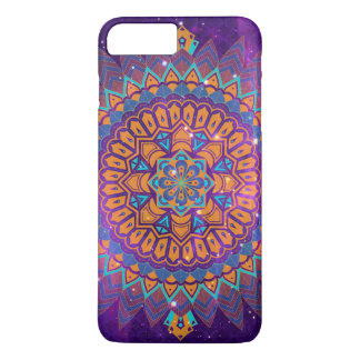 Capa iPhone 8 Plus/7 Plus Mandala + Galáxia
