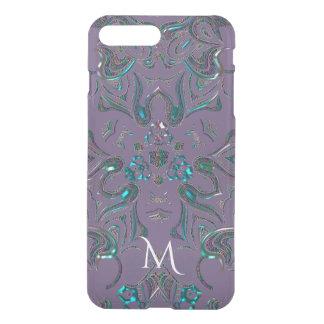 Capa iPhone 8 Plus/7 Plus Mandala Jeweled original do olhar do monograma
