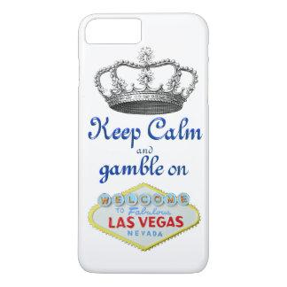 Capa iPhone 8 Plus/7 Plus Mantenha o jogo calmo em Las Vegas