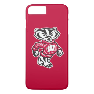 Capa iPhone 8 Plus/7 Plus Mascote Bucky do texugo de Wisconsin |