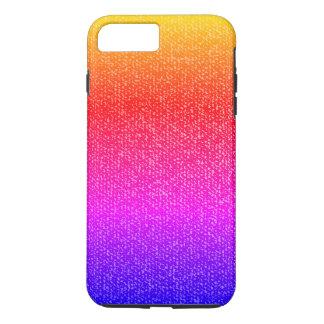 Capa iPhone 8 Plus/7 Plus Material colorido do tecido