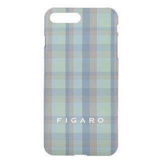 Capa iPhone 8 Plus/7 Plus McFig Figaro tempera edição limitada do Tartan