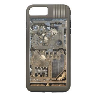Capa iPhone 8 Plus/7 Plus Mecanismo de Steampunk