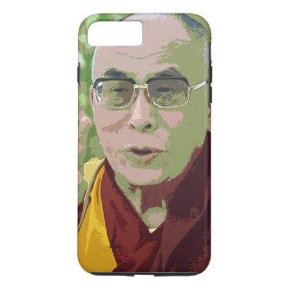 Capa iPhone 8 Plus/7 Plus Meditação budista do budismo de Dalai Lama Buddha