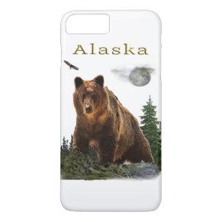 Capa iPhone 8 Plus/7 Plus Mercadoria do estado de Alaska