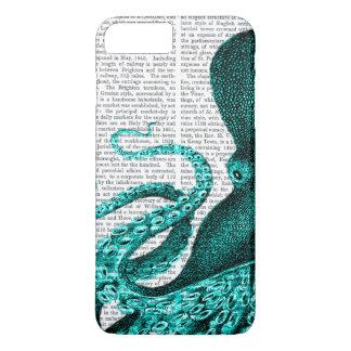 Capa iPhone 8 Plus/7 Plus Metade verde do polvo
