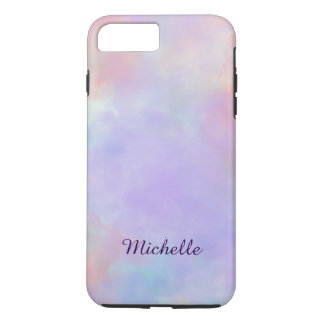 Capa iPhone 8 Plus/7 Plus Modelo Pastel macio e sereno do design