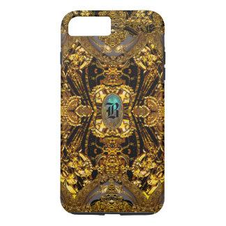 Capa iPhone 8 Plus/7 Plus Monograma bonito romântico de Velgeorge