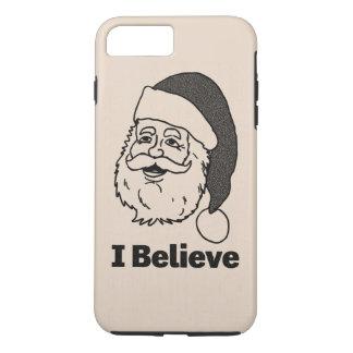 Capa iPhone 8 Plus/7 Plus Monótonos coberto eu acredito o caso positivo do