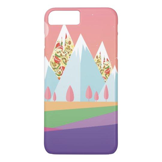 Capa iPhone 8 Plus/7 Plus Montanha de Pizza