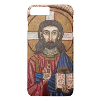 Capa iPhone 8 Plus/7 Plus Mosaico antigo de Jesus